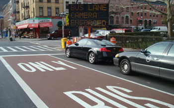 Traffic Violations Nyc >> Bus Rapid Transit - Select Bus Service Features