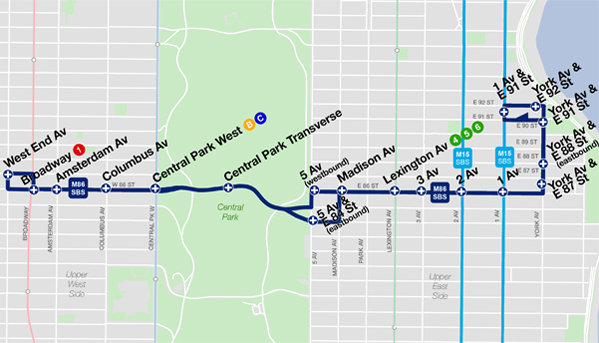 Bus Rapid Transit - 86th Street Select Bus Service on manhattan bus map, m5 bus route map, brooklyn bus map, nyc map, m20 bus map, flushing meadows map, ny bus route map, transit map, new york mta bus map, ny city subway, new york city transportation map, twin cities bus map, staten island bus map, new york city train map, queens bus map, ny express bus map, new york bus route map, bronx bus map,