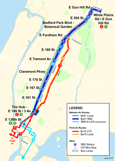 The Bronx Gets Its Second Select Bus Service Route Streetsblog New York City