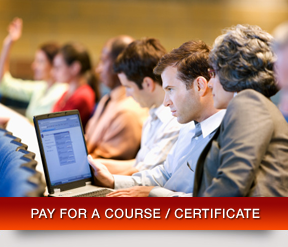 Pay for a Course / Certificate