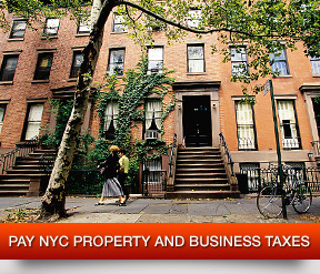 Pay NYC Property and Business Taxes