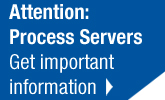 Attention Process Servers