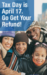 Tax Day is April 17. Go Get Your Refund!