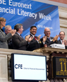 Cities for Financial Empowerment Rings The Opening Bell on April 11 as NYSE Euronext Commemorates Financial Literacy Week (April 9-13)