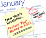 DCA Issues Top 10 Financial Resolutions for 2011