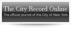 The City Record Online - The official journal of the City of New York