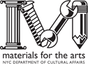materials for the arts | NYC Department of Cultural Affairs