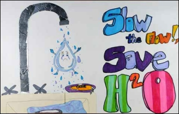 Artwork from the 2008 DEP Water Conservation Art and Poetry Contest