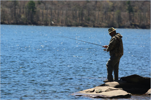 Dep Encourages Anglers To Use Expanded Access To
