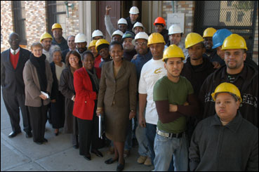 Dep Bronx Community College Salute Project Hire Students