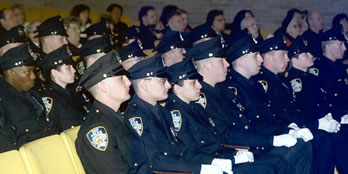 dep commissioner presides over first graduating class of newly