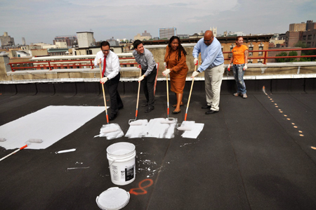 Wonderful NYC °CoolRoofs Launched Its Second Season! Commissioner LiMandri And NYC  Service Chief Service Officer Diahann Billings Burford Kicked Off This  Season Of ...