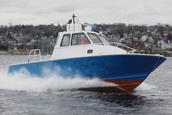 emergency response boat