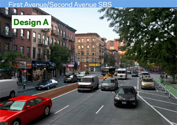1st and 2nd Avenues Get Complete Streets