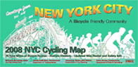 Image of NYC Cycling Map