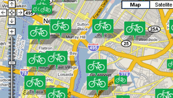 Online Bike Parking Maps