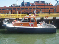 Photo of the Emergency Response boat American Legion