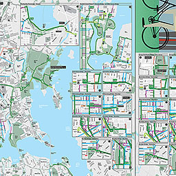 NYC DOT Bicycle Maps - Nyc map