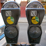 Cornelia Street meters