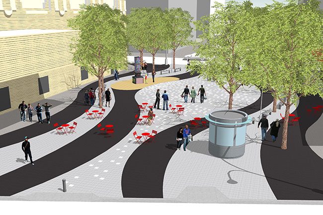 Nyc Dot Press Releases Nyc Dot And Ddc Announce Plaza De