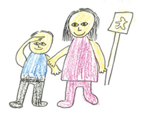 Brooklyn Drawing Of Children