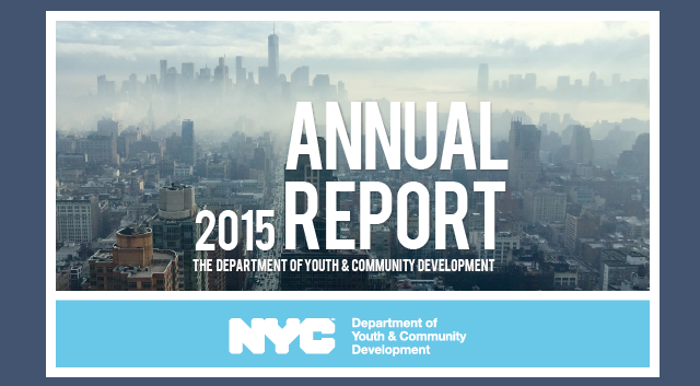 2015 DYCD Annual Report