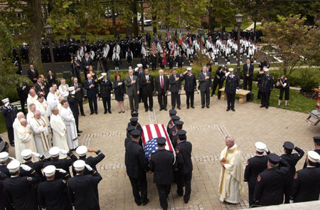 Funeral Mass for Firefighter Michael C. Reilly