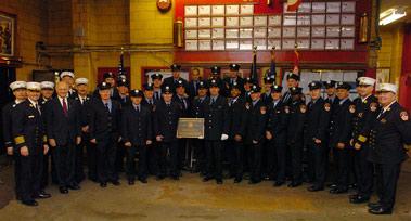 Ladder Company 123 Celebrates 100 Years