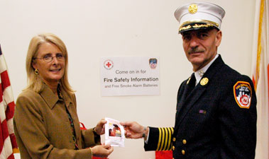 FDNY Joins American Red Cross in Announcing Free Battery Giveaway