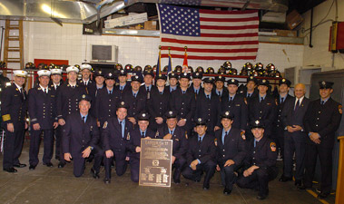 Ladder Company 35 Celebrates its Centennial