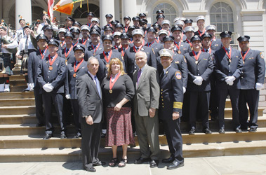 Fire Department Medal Day