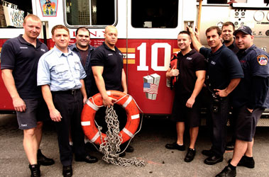 Firefighters Make Hudson River Rescue