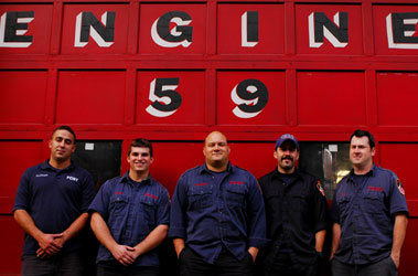 Firefighters from Engine 59 Save Choking Victim