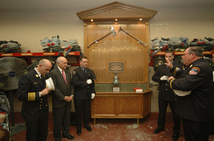 Ladder Company 122 Celebrates 100 Years of Service