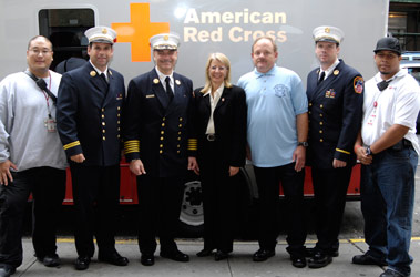 Disaster Preparedness Stressed in FDNY Partnership with the American Red Cross