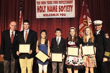 The Holy Name Society held a Higher Education Scholarship lottery, awarding scholarships to the children and grandchildren of its members.