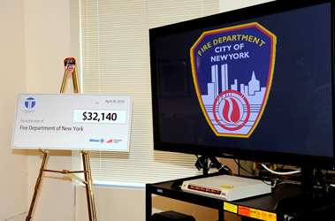 The grant will support the FDNY's Audio/Visual unit, which produces training videos for FDNY members.