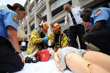 2013 FDNY EMS Competition and Health Fair