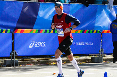 Numerous FDNY members competed in the annual race against the NYPD.