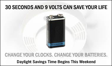 Change Your Clock, Change Your Battery City-Wide Campaign