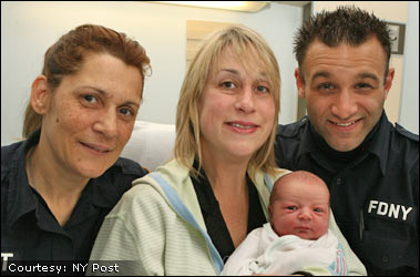 EMT Delivers Fire Lieutenant's Baby on a Busy Highway