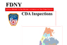 FDNY 2010 Annual Report on CDA Inspections