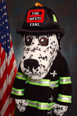 Hotdog, The FDNY Fire Safety Mascot