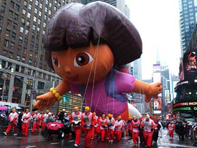 Thanksgiving Day Parade November 23, 2006