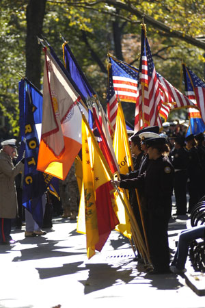 The 78th Annual Veteran's Day Parade kicks off in Madison Square Park on November 11.