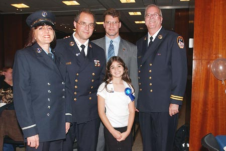 Regional EMS Council of New York City (REMSCO) hosted an EMS Week 2007 Recognition and Awards Ceremony at the Interchurch Center in Manhattan on May 21