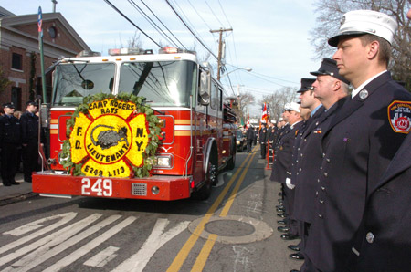 Lt. John Martinson served at Engine 249/Ladder 113 for nearly six years before his tragic death on January 3.