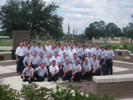 Forty members of the FDNY Incident Management Team (IMT) traveled to Baton Rouge, La., to support the area's first responders following Hurricane Gustav.