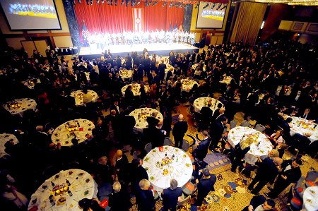 Hundreds attended the annual event at the New York Hilton in Midtown Manhattan.