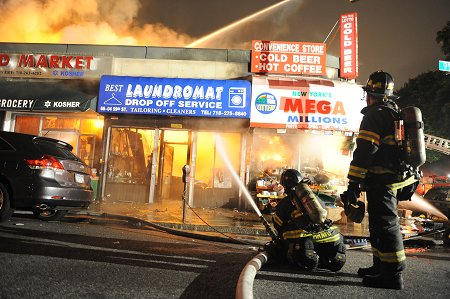 Queens 4-Alarm Fire on May 23